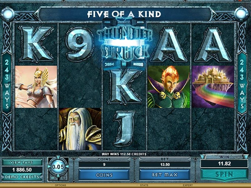 Review of Thunderstruck Slot